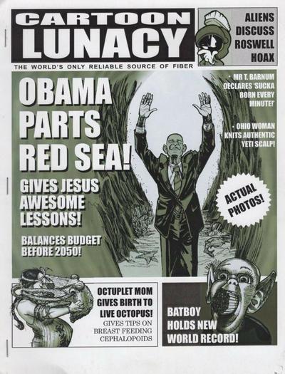 Cover for Cartoon Loonacy (Bruce Chrislip, 1990 ? series) #98