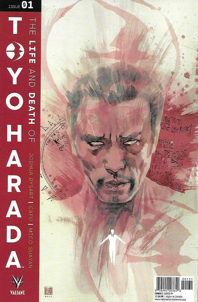 Cover for The Life and Death of Toyo Harada (Valiant Entertainment, 2019 series) #1 [Gold Logo]
