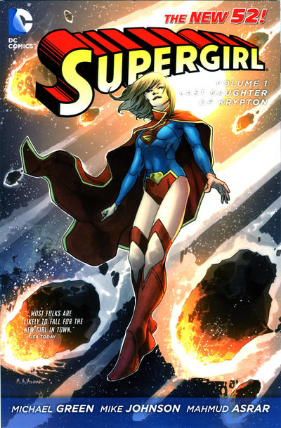 Cover for Supergirl (DC, 2012 series) #1 - Last Daughter of Krypton