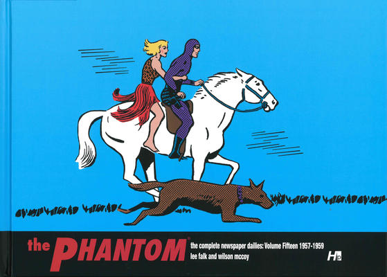 Cover for The Phantom: The Complete Newspaper Dailies (Hermes Press, 2010 series) #15 - 1957-1958