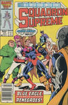 Cover for Squadron Supreme (Marvel, 1985 series) #11 [Canadian]