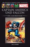 Cover for Die offizielle Marvel-Comic-Sammlung (Hachette [DE], 2013 series) #36 - Captain America und Falcon: Die Amokbombe