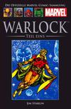 Cover for Die offizielle Marvel-Comic-Sammlung (Hachette [DE], 2013 series) #32 - Warlock, Teil Eins