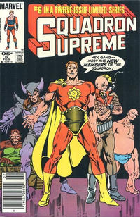 Cover Thumbnail for Squadron Supreme (Marvel, 1985 series) #6 [Canadian]