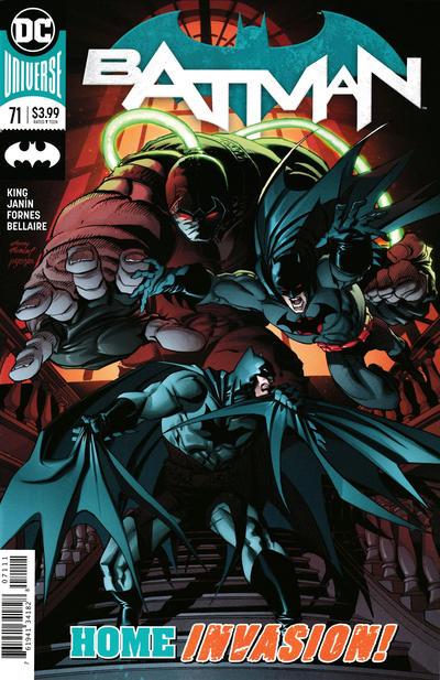 Cover for Batman (DC, 2016 series) #71 [Frank Cho]