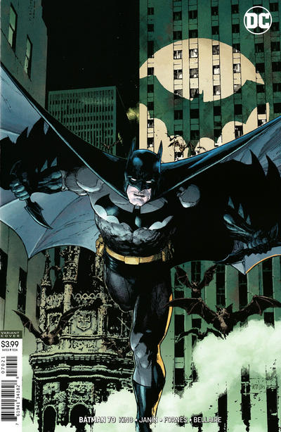 Cover for Batman (DC, 2016 series) #70 [Leinil Francis Yu]