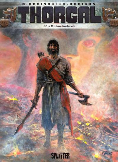 Cover for Thorgal (Splitter Verlag, 2011 series) #35 - Scharlachrot