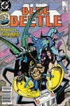 Cover Thumbnail for Blue Beetle (1986 series) #11 [Newsstand]