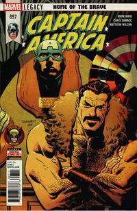 Cover Thumbnail for Captain America (Marvel, 2017 series) #697 [Main Cover]