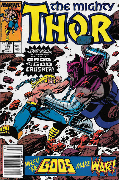 Cover for Thor (Marvel, 1966 series) #397 [Direct]