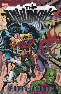 Cover Thumbnail for The Inhumans: Beware the Inhumans (Marvel, 2018 series)