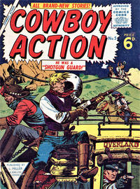 Cover Thumbnail for Cowboy Action (L. Miller & Son, 1956 series) #5