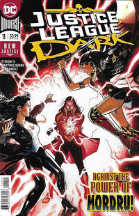 Cover Thumbnail for Justice League Dark (DC, 2018 series) #11 [Ryan Sook Cover]