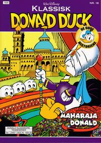 Cover Thumbnail for Klassisk Donald Duck (Hjemmet / Egmont, 2016 series) #18 - Maharaja Donald