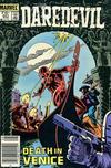 Cover for Daredevil (Marvel, 1964 series) #221 [Canadian]