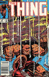 Cover for The Thing (Marvel, 1983 series) #25 [Canadian]