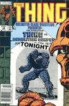 Cover for The Thing (Marvel, 1983 series) #28 [Canadian]