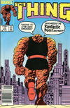 Cover for The Thing (Marvel, 1983 series) #23 [Canadian]