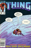 Cover for The Thing (Marvel, 1983 series) #22 [Canadian]
