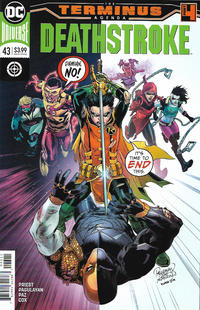 Cover Thumbnail for Deathstroke (DC, 2016 series) #43