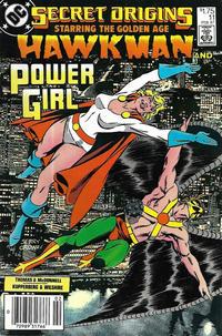 Cover Thumbnail for Secret Origins (DC, 1986 series) #11 [Canadian]