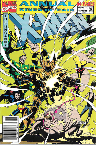 Cover for X-Men Annual (Marvel, 1970 series) #15 [Direct]
