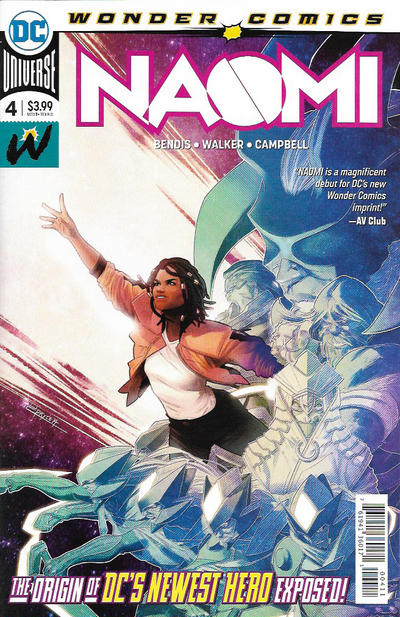 Cover for Naomi (DC, 2019 series) #4 [Second Printing]