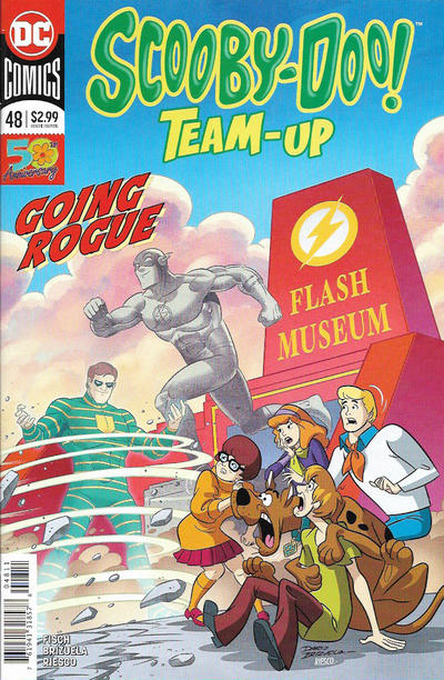 Cover for Scooby-Doo Team-Up (DC, 2014 series) #48