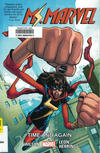 Cover for Ms. Marvel (Marvel, 2014 series) #10 - Time and Again