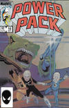 Cover for Power Pack (Marvel, 1984 series) #16 [Direct]