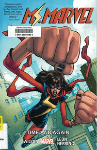 Cover Thumbnail for Ms. Marvel (Marvel, 2014 series) #10 - Time and Again