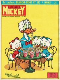 Cover Thumbnail for Le Journal de Mickey (Disney Hachette Presse, 1952 series) #564