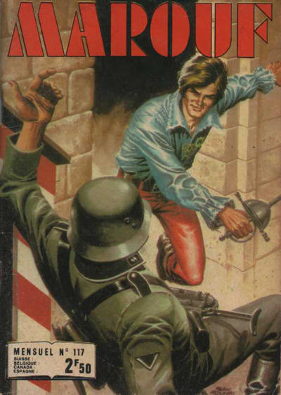 Cover for Marouf (Impéria, 1969 series) #117