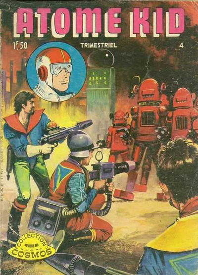 Cover for Atome Kid (Arédit-Artima, 1970 series) #4