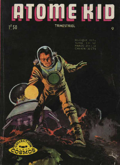 Cover for Atome Kid (Arédit-Artima, 1970 series) #9