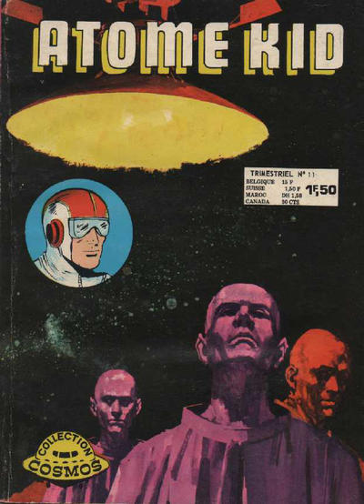 Cover for Atome Kid (Arédit-Artima, 1970 series) #11