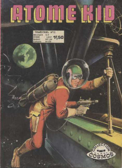 Cover for Atome Kid (Arédit-Artima, 1970 series) #12