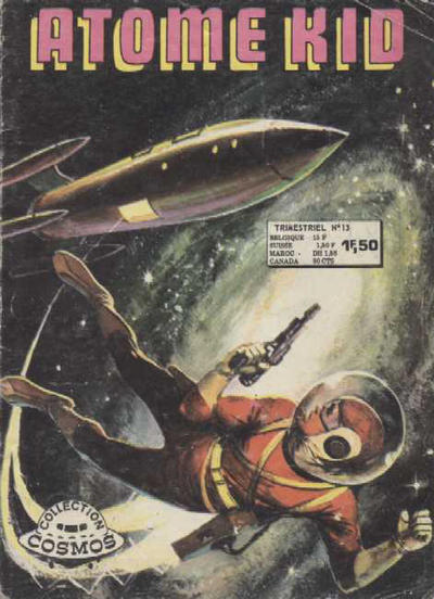 Cover for Atome Kid (Arédit-Artima, 1970 series) #13