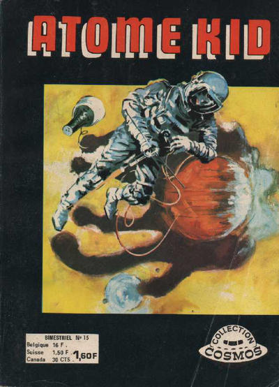 Cover for Atome Kid (Arédit-Artima, 1970 series) #15