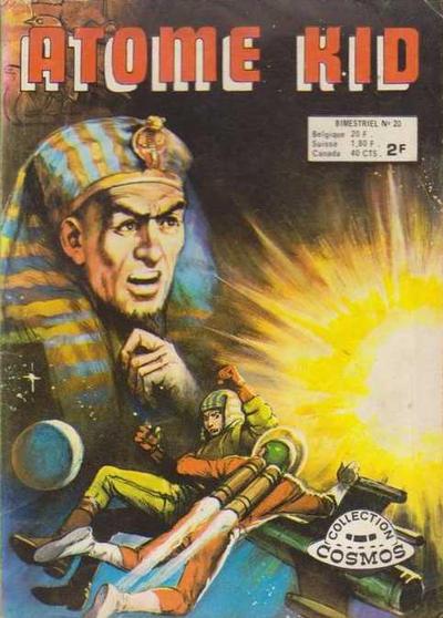 Cover for Atome Kid (Arédit-Artima, 1970 series) #20
