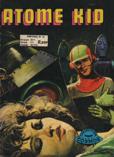 Cover for Atome Kid (Arédit-Artima, 1970 series) #26