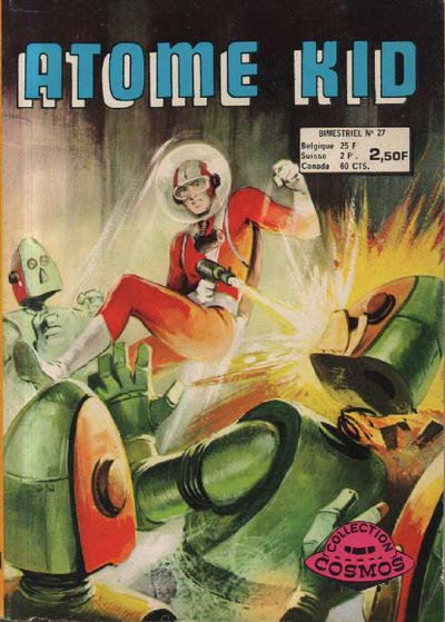 Cover for Atome Kid (Arédit-Artima, 1970 series) #27