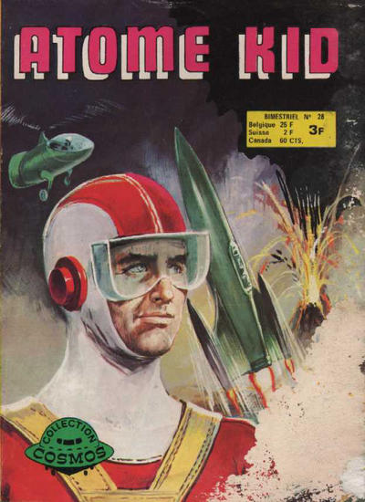 Cover for Atome Kid (Arédit-Artima, 1970 series) #28