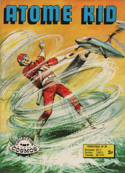 Cover for Atome Kid (Arédit-Artima, 1970 series) #30