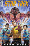 Cover for Star Trek: Year Five (IDW, 2019 series) #2 [Regular Cover]