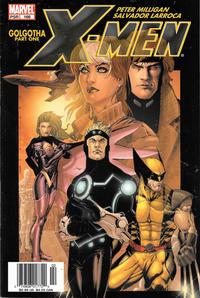Cover Thumbnail for X-Men (Marvel, 2004 series) #166 [Newsstand]