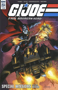 Cover Thumbnail for G.I. Joe: A Real American Hero (IDW, 2010 series) #254 [Cover A - Marcelo Ferreira]