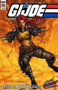 Cover Thumbnail for G.I. Joe: A Real American Hero (IDW, 2010 series) #255 [Cover B - Harvey Tolibao]