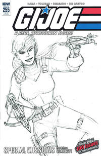 Cover Thumbnail for G.I. Joe: A Real American Hero (IDW, 2010 series) #255 [Cover RI-A - Larry Hama]