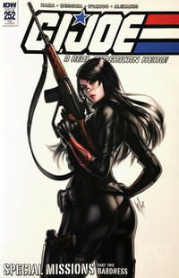 Cover Thumbnail for G.I. Joe: A Real American Hero (IDW, 2010 series) #252 [Cover RE - KRS Comics Exclusive - Warren Louw]